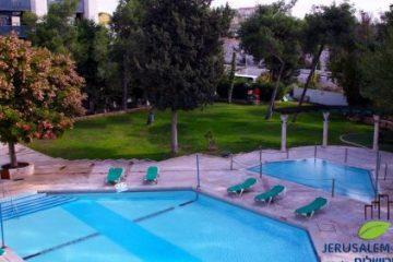 מלון גני ירושלים בחנוכה