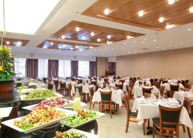 מלון רמדה ירושלים חדר אוכל